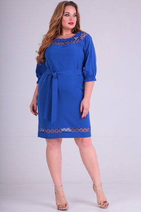 Платье SOVITA 710 синий