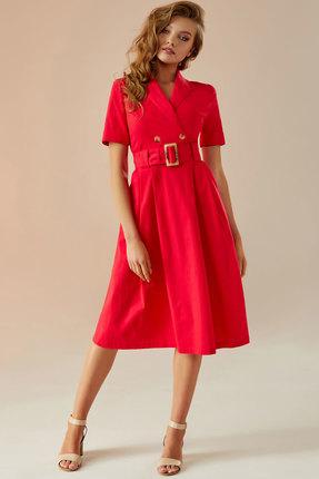 Платье Andrea Fashion AF-11 красный