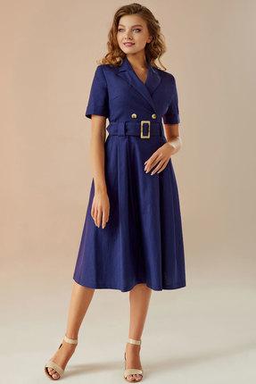 Платье Andrea Fashion AF-11 синий