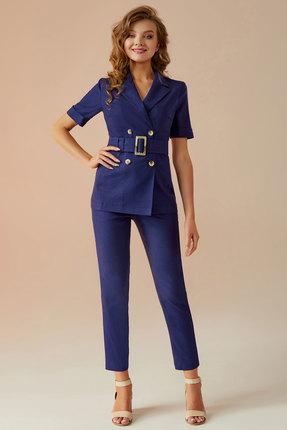 Комплект брючный Andrea Fashion AF-13 синий
