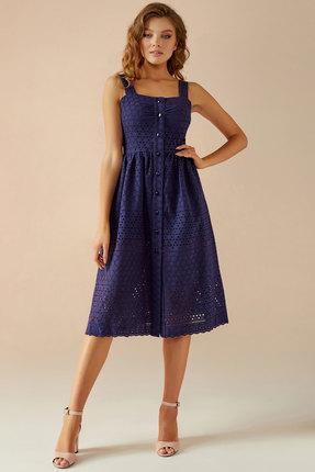 Сарафан Andrea Fashion AF-16 синий