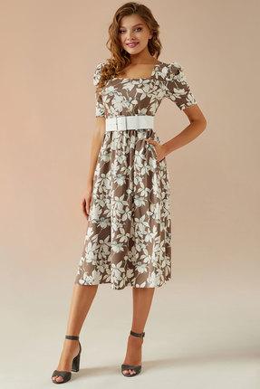 Платье Andrea Fashion AF-24 бежевый