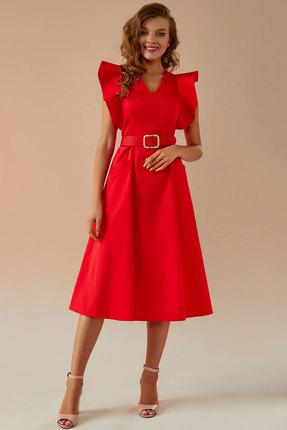 Платье Andrea Fashion AF-27 красный