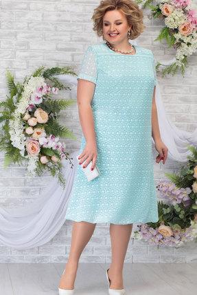Платье Ninele 5782 светло-зелёный