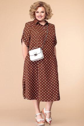 Платье Romanovich style 1-1657 коричневый