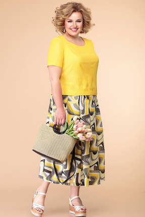 Комплект юбочный Romanovich style 2-1353 желтые тона thumbnail