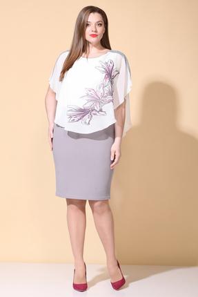 Платье B&F 3000 сиреневые тона