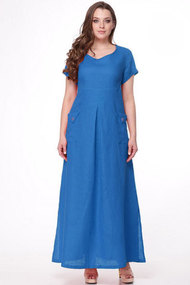 Платье MALI 411 василёк