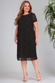 Платье SandyNa 13560 черный