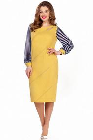 Платье TEZA 1236 желтый