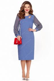Платье TEZA 1236 синий