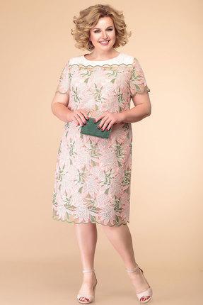 Платье Romanovich style 1-1995 розовые тона