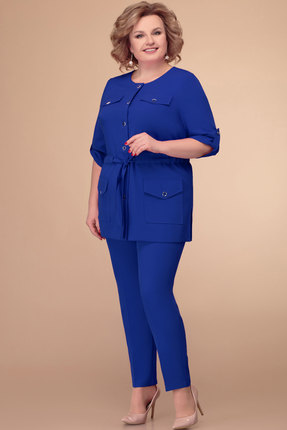 Комплект брючный Svetlana Style 1398 синий