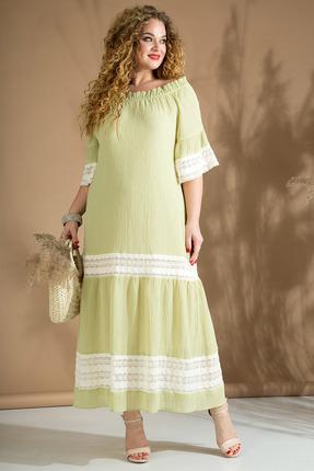 Платье Лилиана 819 фисташковый