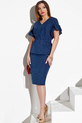Комплект юбочный Lissana 4063 синий