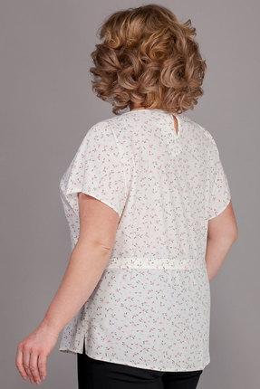 Блузка Emilia 168/7 светлые тона с цветами