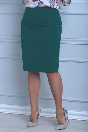 женская юбка anelli, зеленая
