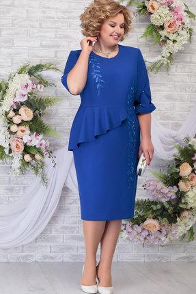 Платье Ninele 7287 василёк
