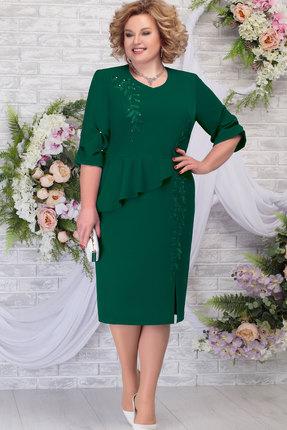 Платье Ninele 7287 изумруд
