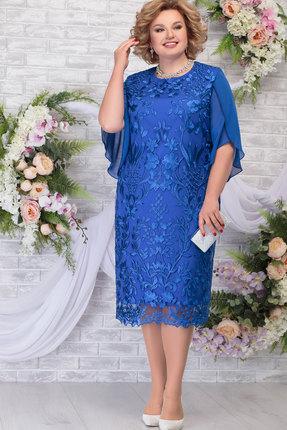 Платье Ninele 7289 василёк