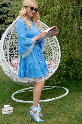 Платье Vesnaletto 2312 голубой