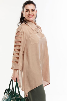 женская блузка belinga, кремовая