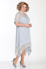 Платье Matini 31326 серые тона