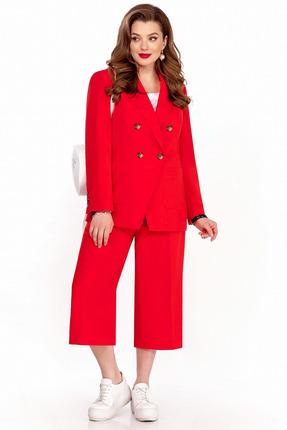 Комплект брючный TEZA 1258 красный