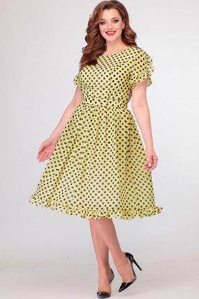 Платье Асолия 2479 жёлтый