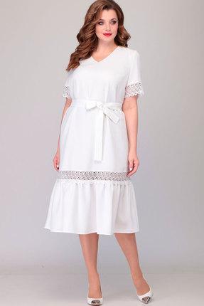 Платье Асолия 2475 белый