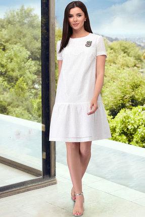 Платье ТАиЕР 856 белый