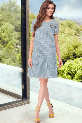 Платье ТАиЕР 856 голубой
