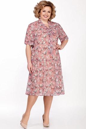 женское повседневные платье lakona, розовое