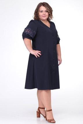 Платье Belinga 1002 синий