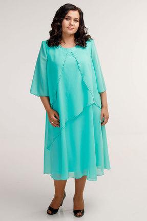 Платье Belinga 1041 светлая бирюза
