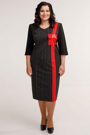 Платье Belinga 1044 черные тона
