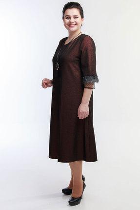 Платье Belinga 1060 коричневый