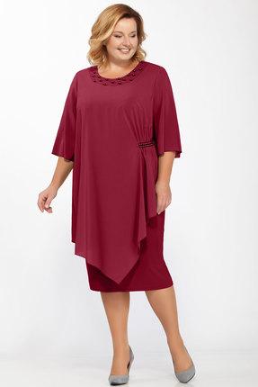 Платье Belinga 1157 бордо