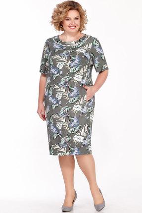 женское повседневные платье lakona, хаки