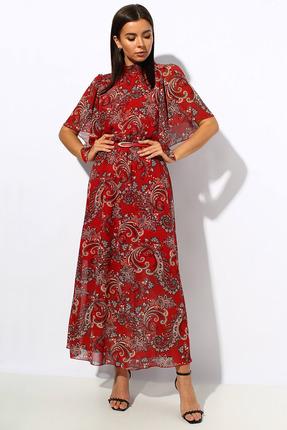Платье Миа Мода 1143-2 красный