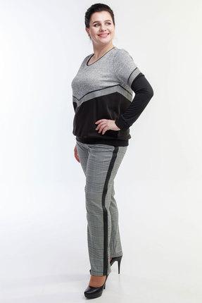 Комплект брючный Belinga 2017 серый с черным