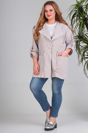 Куртка SandyNa 13666 бежевый