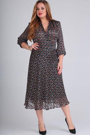 Платье Elga 01-590 мультиколор