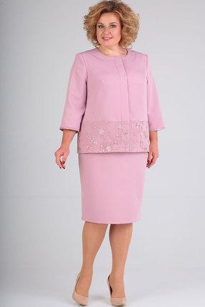 Комплект юбочный Elga 22-664 пудра