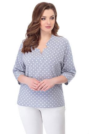женская блузка белэкспози, голубая