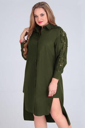 Платье Таир-Гранд 6547 хаки
