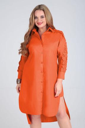 Платье Таир-Гранд 6547 терракот