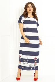Платье Anastasia 430 синий