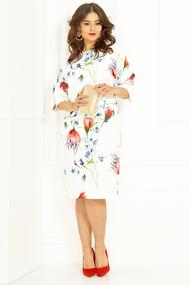Платье Anastasia 436 молочный