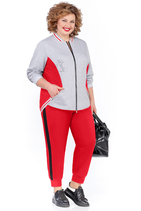 Спортивный костюм Pretty 1018 красный
